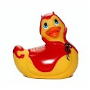 Вибромассажер I Rub My Duckie — Red Devil (BIG)